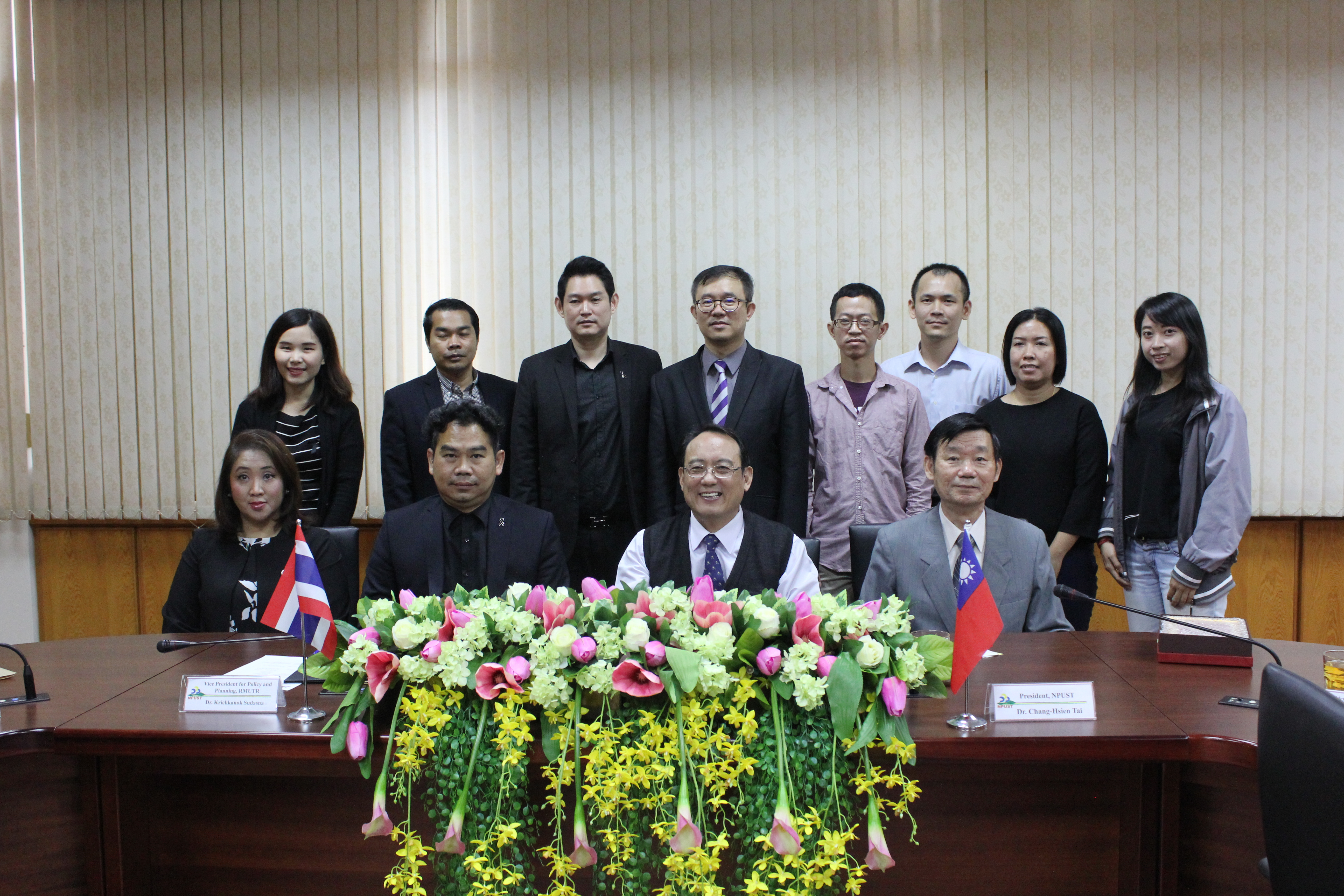 Rector of Thailand's RMUTR Visits to Renew MOU